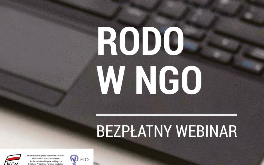 Nagranie zwebinaru: RODO wNGO